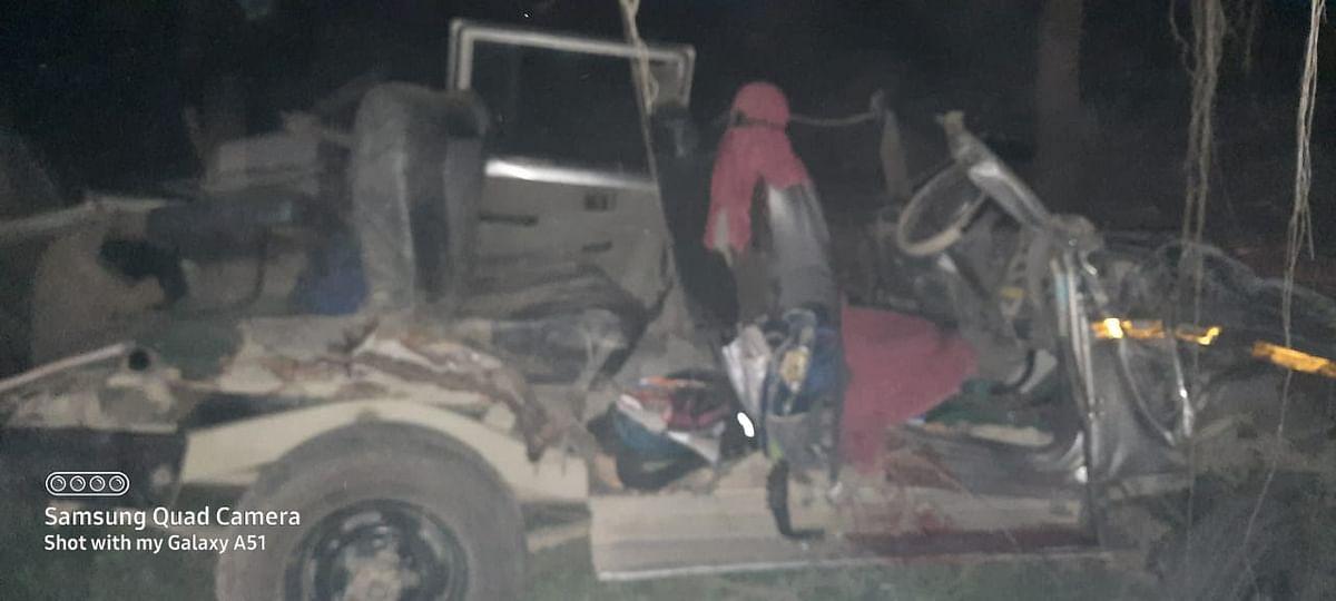 बिहार के बेगूसराय में भीषण सड़क हादसे में पांच छात्रा समेत छह की मौत, कई घायल