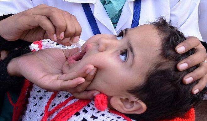 रायपुर : पल्स पोलियो अभियान में छत्तीसगढ़ के 35 लाख से अधिक बच्चों को पिलाई गई दवा