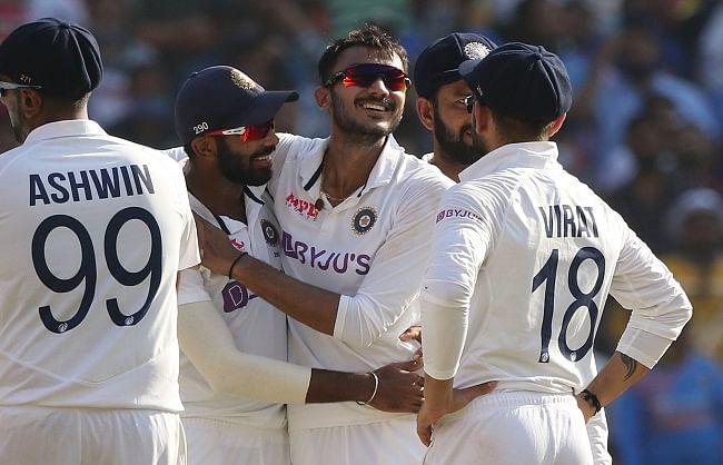 अहमदाबाद टेस्ट: इंग्लैंड की पहली पारी 112 रनों पर सिमटी