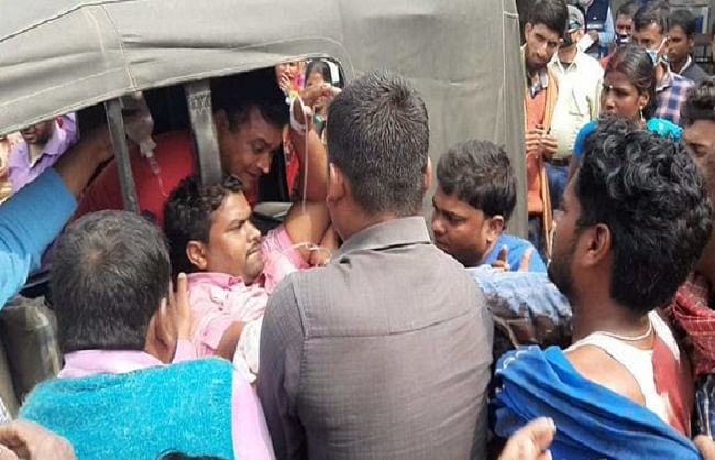 बिहार के सीतामढ़ी में पुलिस शराब तस्कारों की गोलीबाड़ी में एक दरोगा की मौत