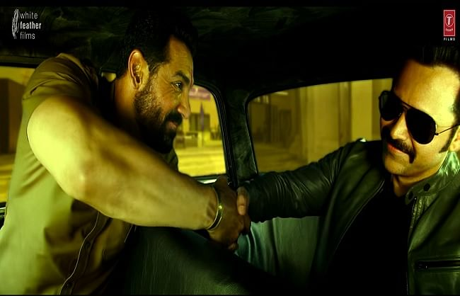 जॉन अब्राहम और इमरान हाशमी की फिल्म 'मुंबई सागा' का धमाकेदार ट्रेलर जारी