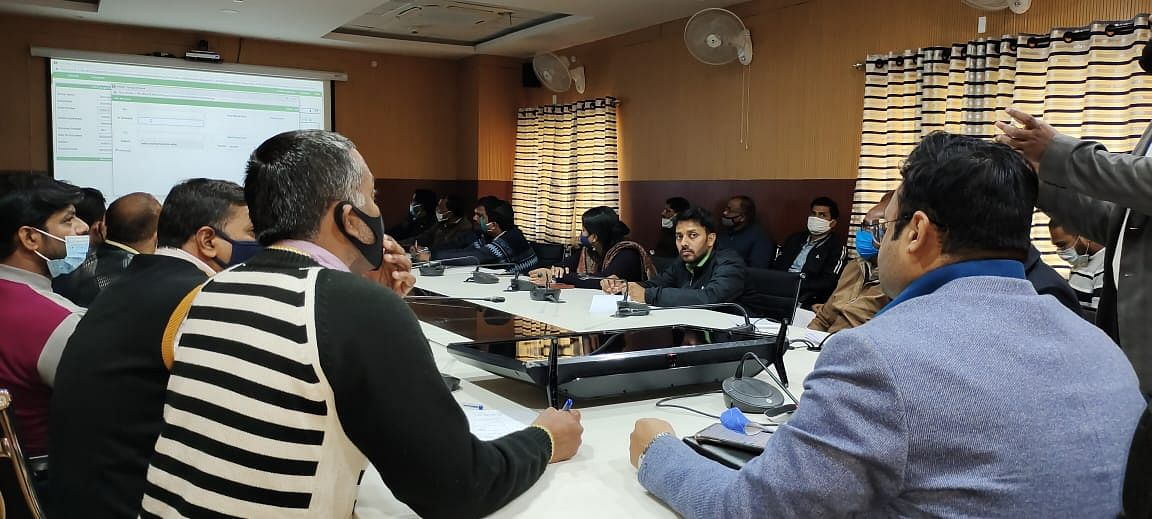 ई- ऑफिस से संबंधित एकदिवसीय प्रशिक्षण का आयोजन