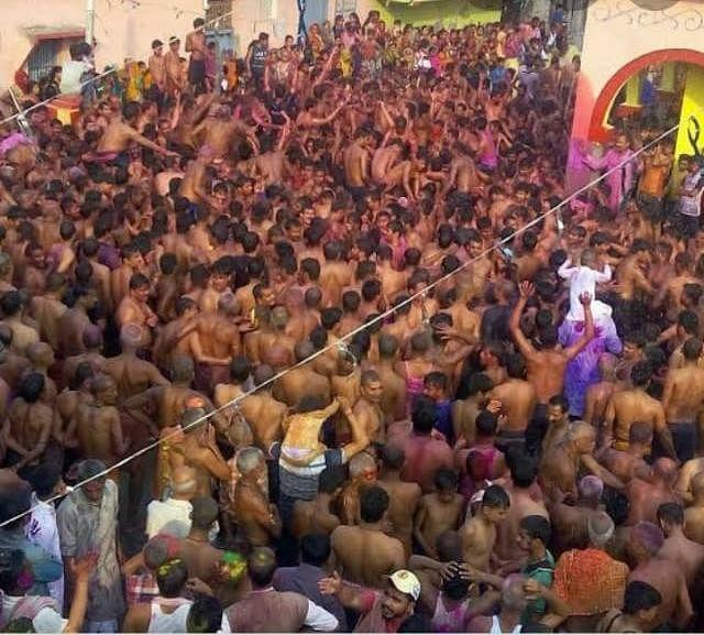 बनगांव होली उत्सव को मिला राजकीय दर्जा,मंत्री ने दिया 20 लाख रुपया