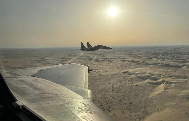 यूएई की मेजबानी में खत्म हुआ 'डेजर्ट फ्लैग' युद्धाभ्यास