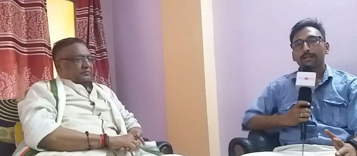 (इंटरव्यू) प. बंगालः दो मई को अंधेरा छंटेगा, कमल खिलेगा, दीदी की विदाई होगीः सूर्यभान पांडेय