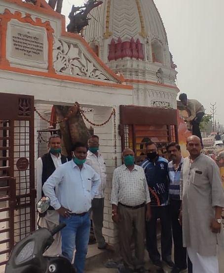 प्राचीन शिव मंदिर में चोरी, श्रद्धालुओं में आक्रोश
