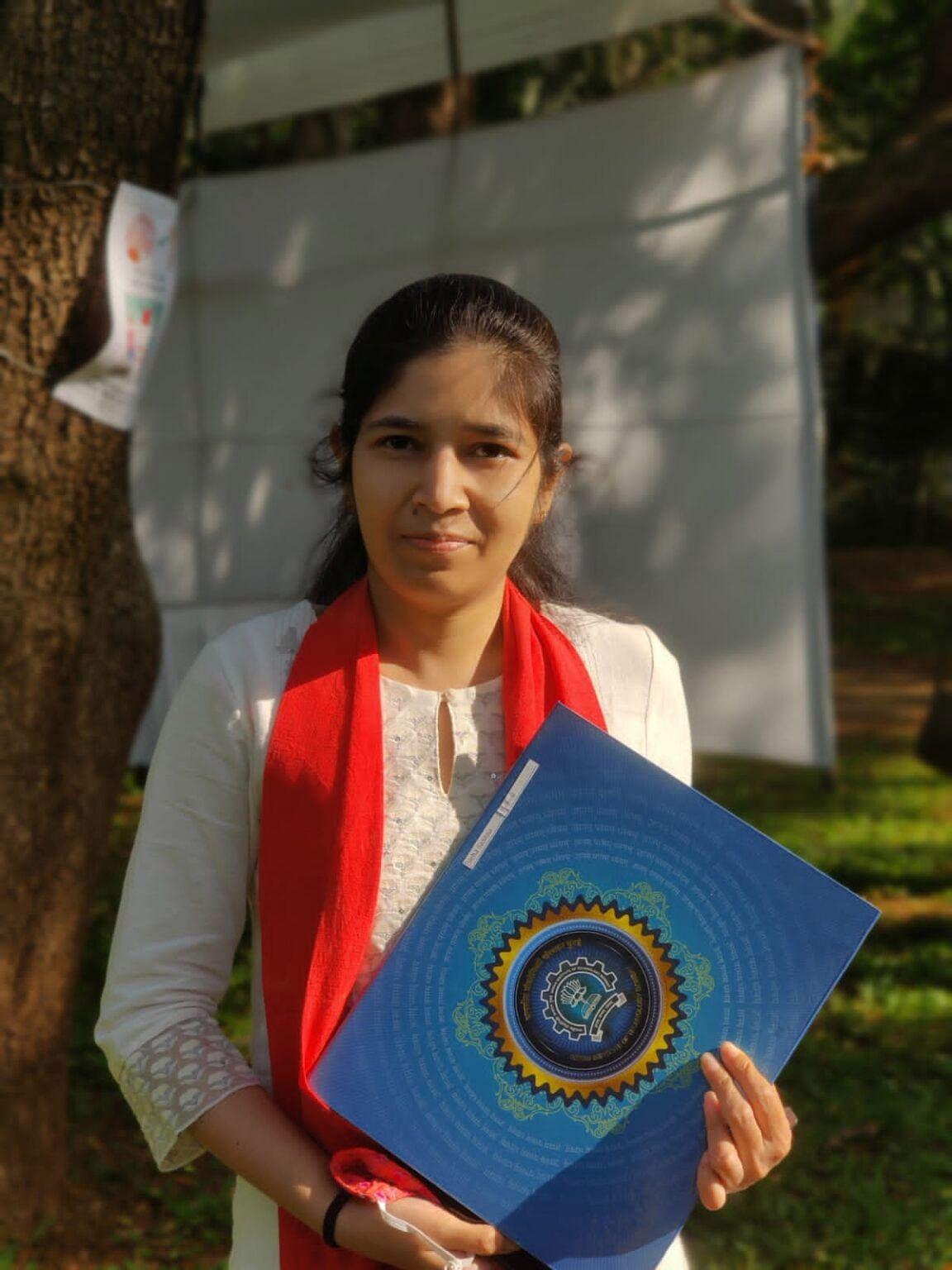 यूनिवर्सिटी ऑफ कैलिफोर्निया में पोस्ट डॉक फेलो के लिये चयनित हुई मथुरा की बेटी डॉ. नेहा सक्सेना