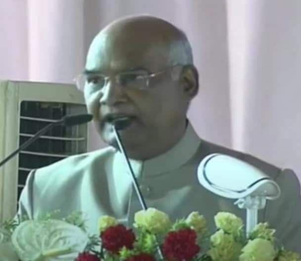 गंगा को स्वच्छ बनाए रखने की जिम्मेदारी सरकार की ही नहीं, हम सबकी भी - रामनाथ कोविन्द
