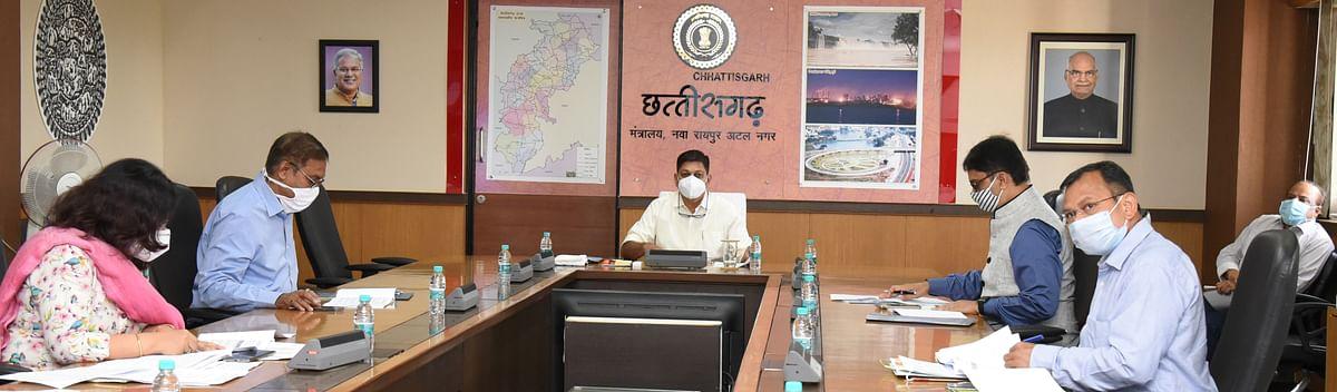रायपुर : वनाधिकार मान्यता पत्रों के वितरण में तेजी लाने के निर्देश