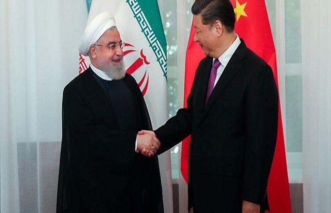 ईरान ने चीन से मिलाया हाथ, सामरिक संधि पर किए हस्ताक्षर