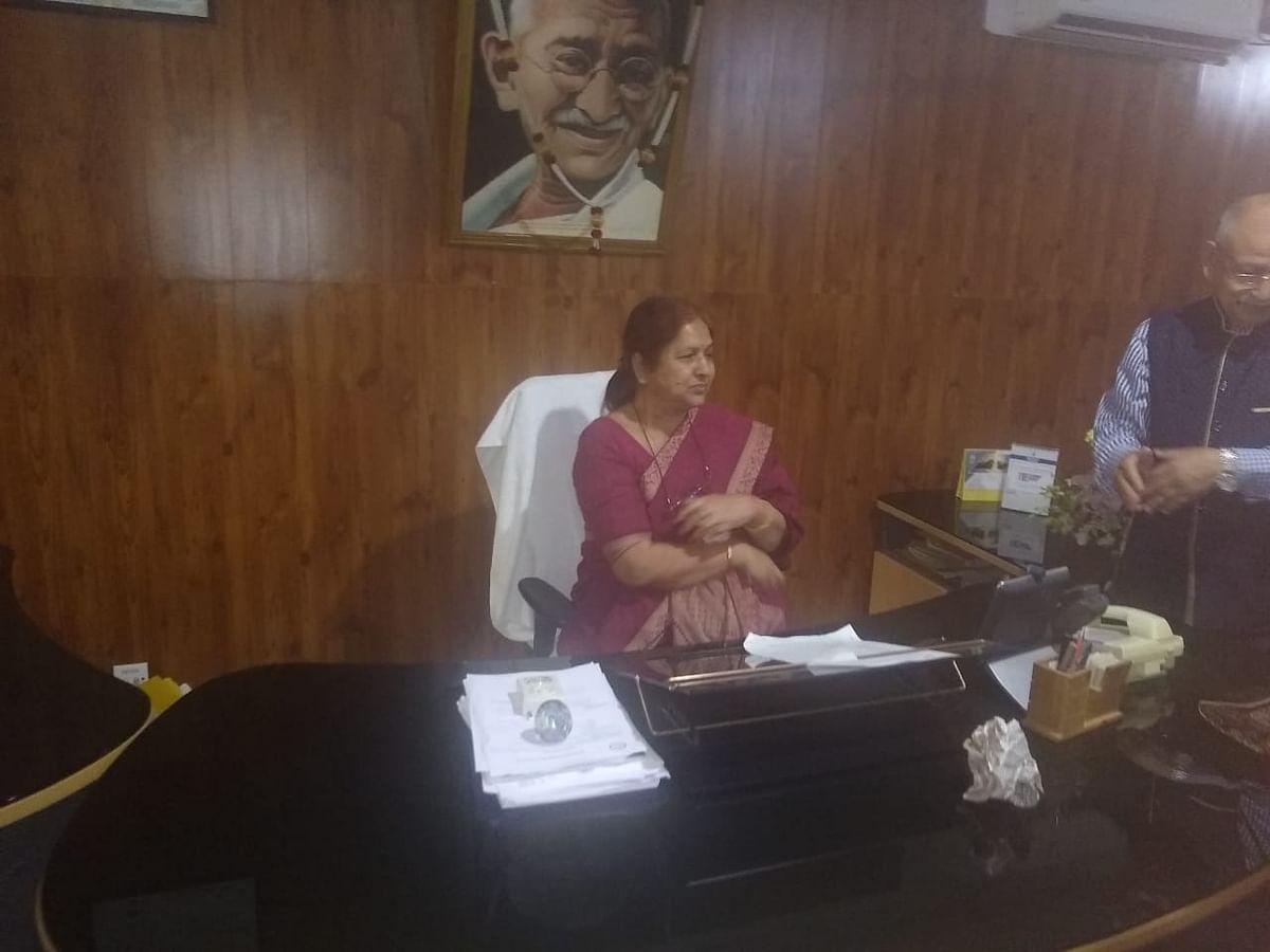 प्रो कामिनी कुमार ने कुलपति के रूप में पदभार ग्रहण किया