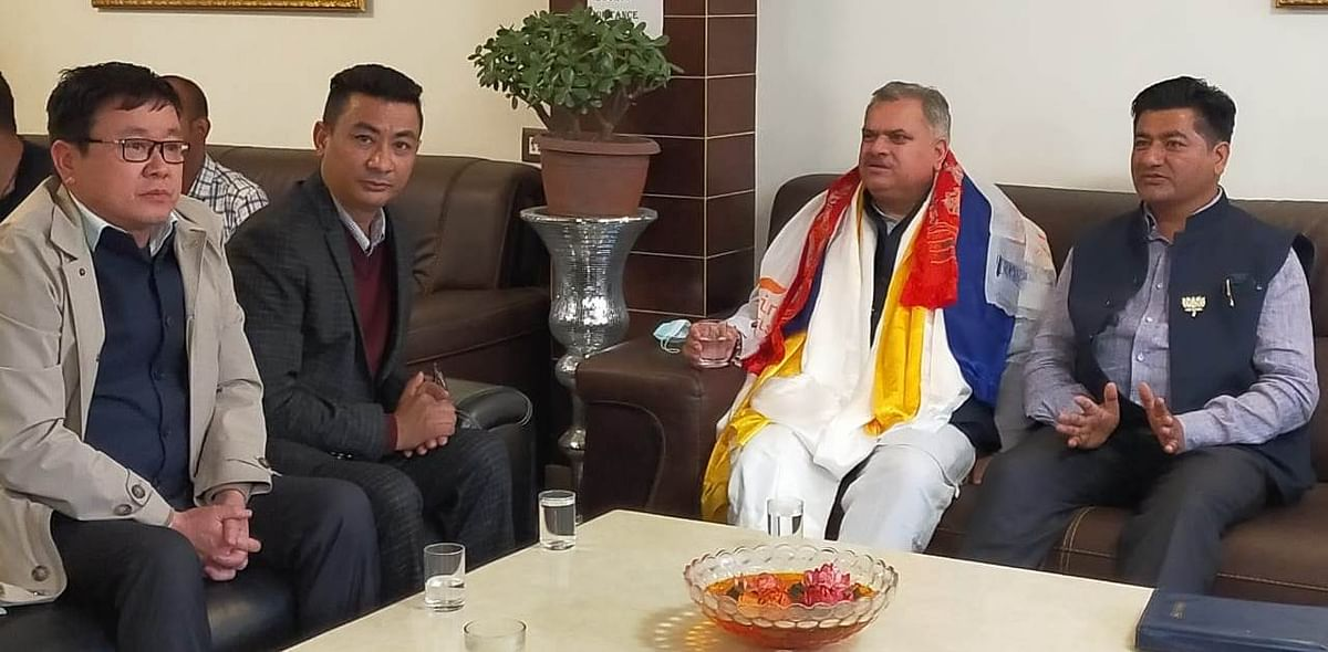 bjp-national-general-secretary-ajay-jamwal-on-three-day-visit-to-sikkim