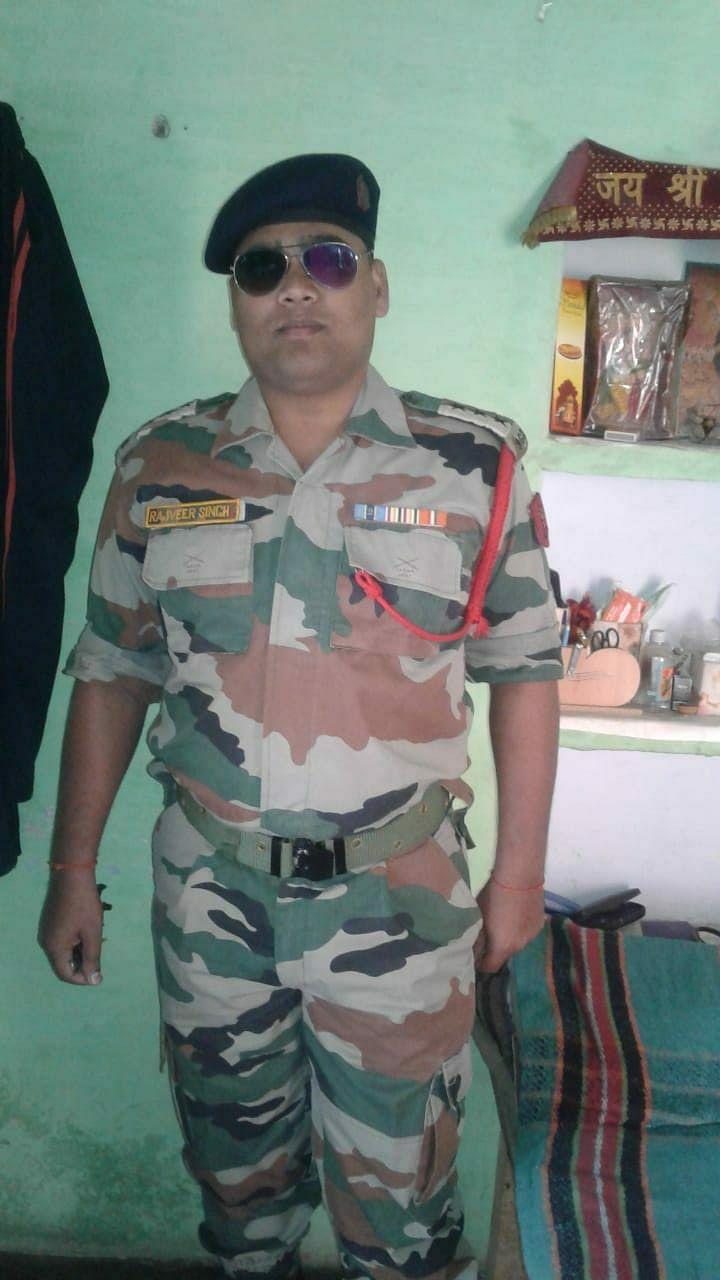 सेना का कैप्टन बन ठगी करने वाला शातिर राजवीर एसटीएफ के हत्थे चढ़ा