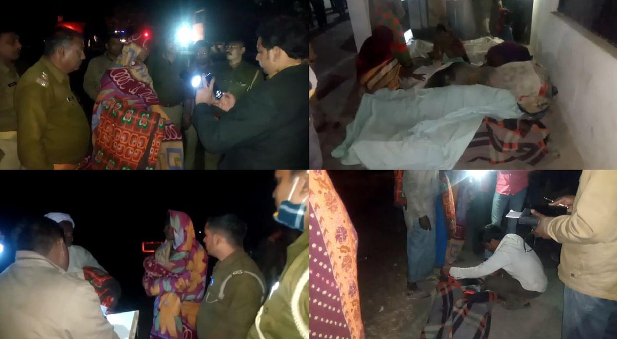 हमीरपुर से इटावा जा रहा मजदूरों भरा ट्राला पलटा, छह की मौत 16 घायल