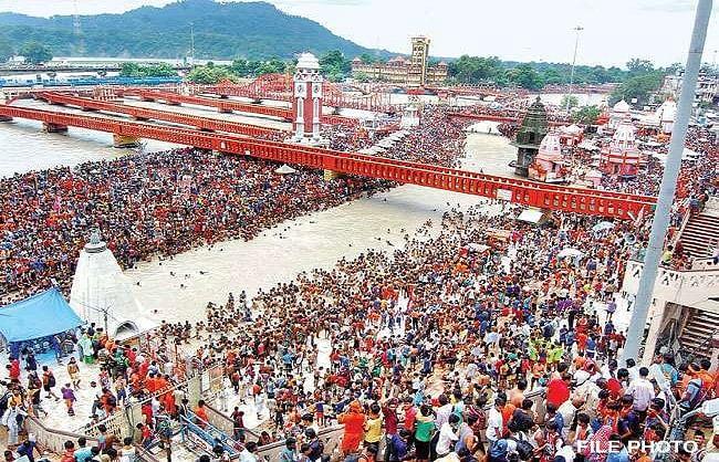 हरिद्वार कुंभ में कोविड निगेटिव रिपोर्ट साथ लाएं श्रद्धालु