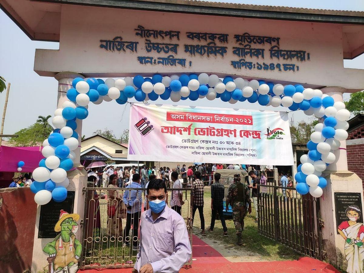 (लीड) असम चुनावः मुख्यमंत्री समेत 264 उम्मीदवारों की किस्मत ईवीएम में बंद