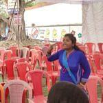 कोरबा : साकेत के सामने बवाल, महिला ने पुलिस वाले को जड़ा थप्पड़