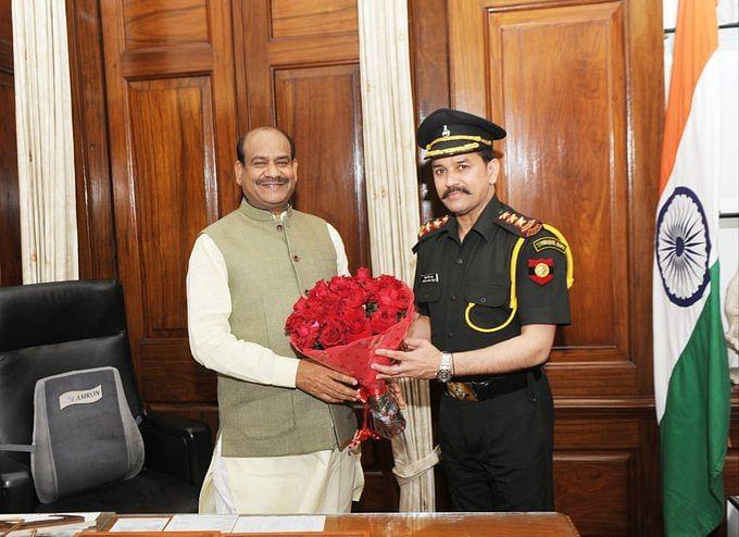 टेरिटोरियल आर्मी में अनुराग सिंह ठाकुर को पदोन्नति मिलने पर लोकसभा अध्यक्ष ने दी बधाई