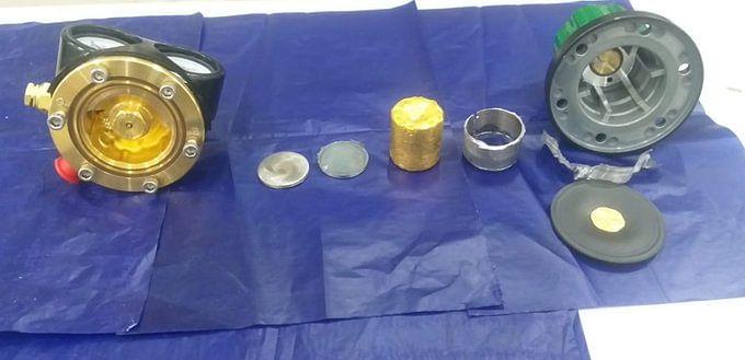 अमौसी एयरपौर्ट पर कस्टम ने पकड़ा 698 ग्राम सोना