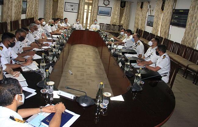 भारत-बांग्लादेश की नौसेनाओं ने समुद्री संबंधों को मजबूत करने पर दिया जोर