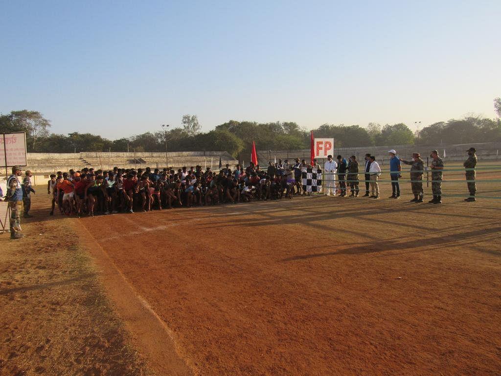 दुर्ग : देश की सुरक्षा के लिए युवकों में जबरदस्त उत्साह