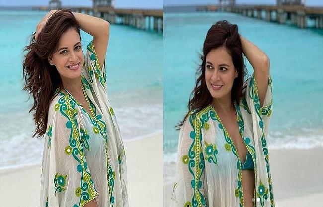 मालदीव में वेकेशंस इंजॉय कर रही दीया मिर्जा ने शेयर की ग्लैमरस तस्वीरें