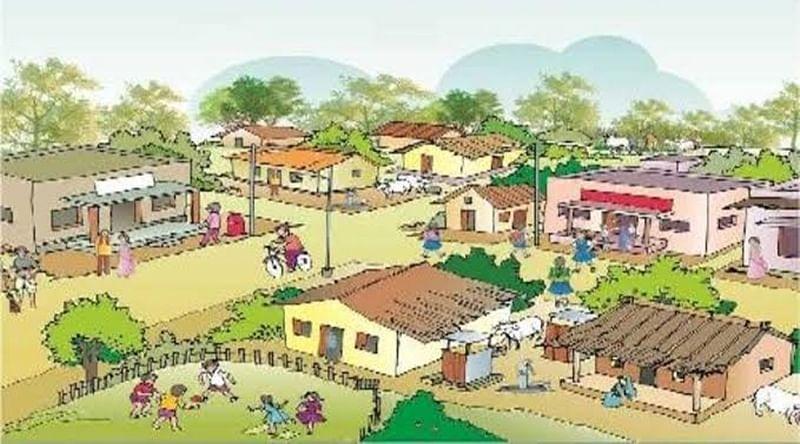 औरैया : मॉडल गांव बनाएंगे, घर-घर खुशहाली लाएंगे