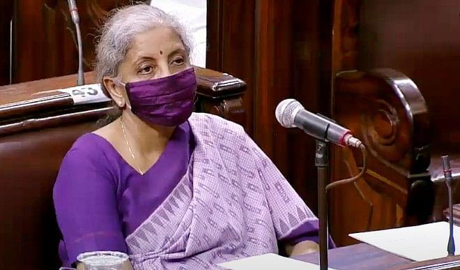 वित्त मंत्री निर्मला सीतारमण ने राज्यसभा  में कहा- भारत की निवेश ग्रेड रेटिंग घटने के आसार नहीं