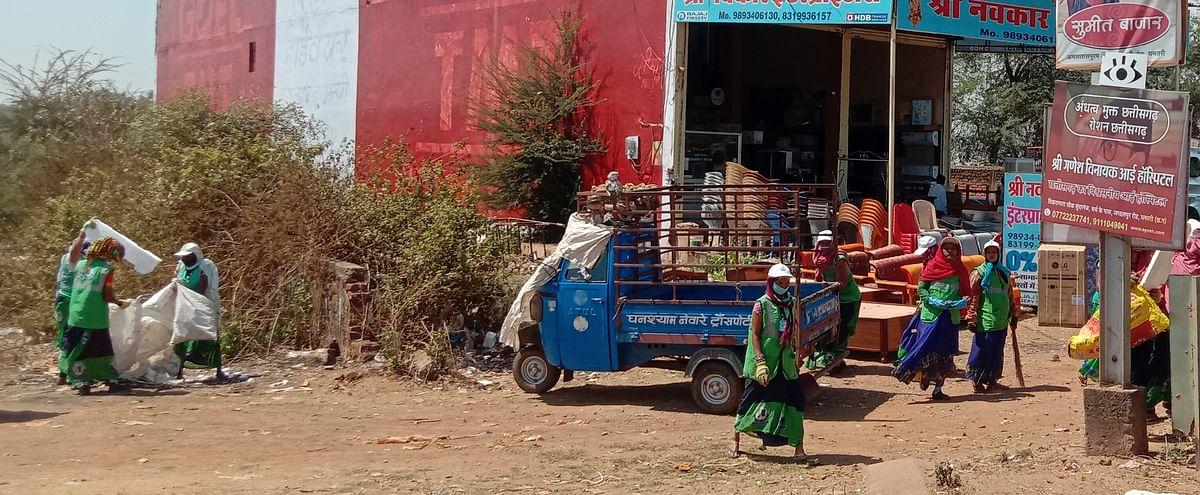 धमतरी : स्वच्छता सर्वेक्षण 2021 की तैयारी, शहर की स्वच्छता देखेंगे दिल्ली की टीम