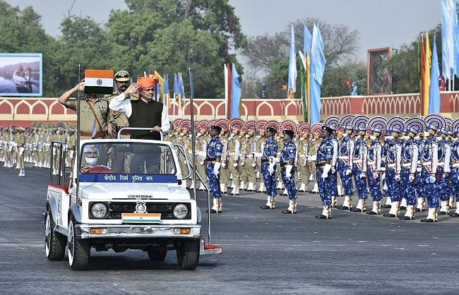 सीआरपीएफ की 82वीं वर्षगांठ, मंत्री नित्यानंद राय ने की अतुलनीय शौर्य की सराहना
