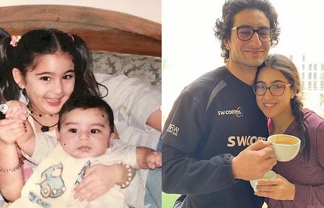 सारा अली खान ने भाई इब्राहिम को खास अंदाज में दी जन्मदिन की  बधाई
