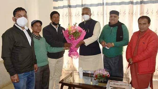सीपीआई के पूर्व राज्य सचिव आनंद सिंह राणा भाजपा में शामिल