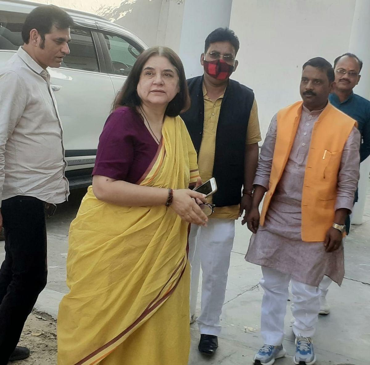 पंचायत चुनाव में भाजपा प्रत्याशियों को जीत दिलाने में पूरा योगदान रहेगा : मेनका गांधी