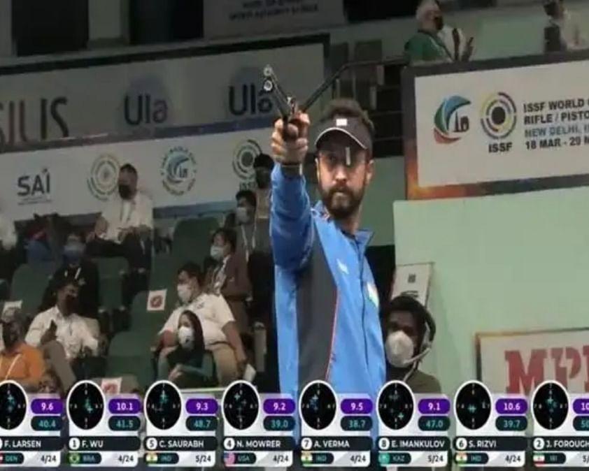 तीन भारतीय निशानेबाज विश्व रैंकिंग में शीर्ष पर पहुंचे