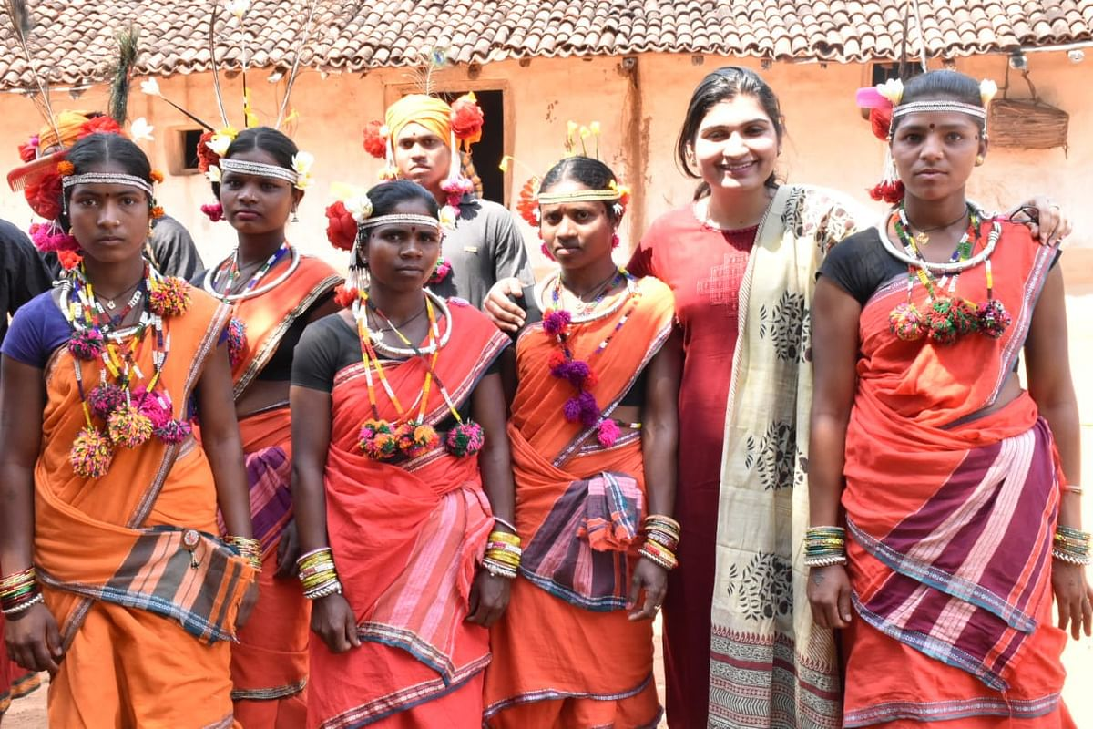 रायपुर : अबूझमाड़ परिधान रैंप वॉक प्रतियोगिता का पहला ऑडिशन सम्पन्न