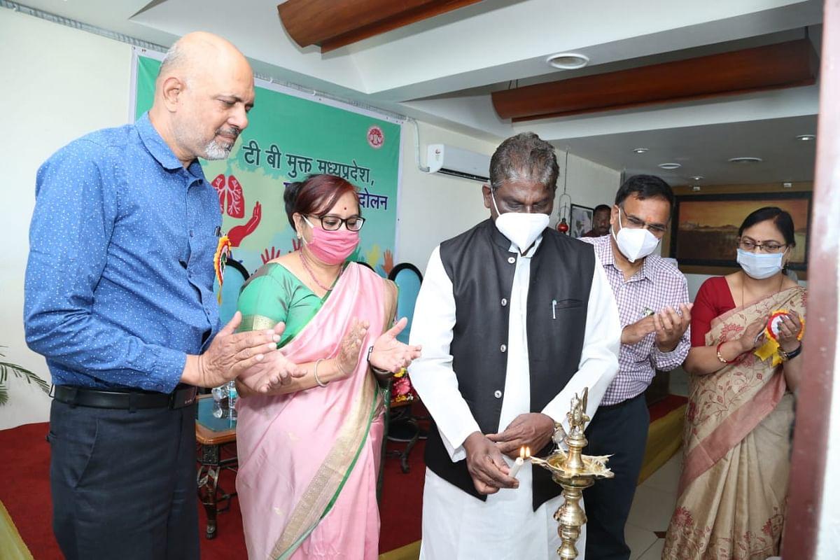 देश के साथ ही मध्यप्रदेश को भी बनाया जाएगा टीबी. मुक्त : मंत्री डॉ. चौधरी