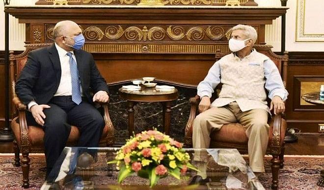 जयशंकर ने अफगानिस्तान के विदेश मंत्री अतमार से की मुलाकात, सुरक्षा सहयोग समेत कई मसलों पर हुई चर्चा