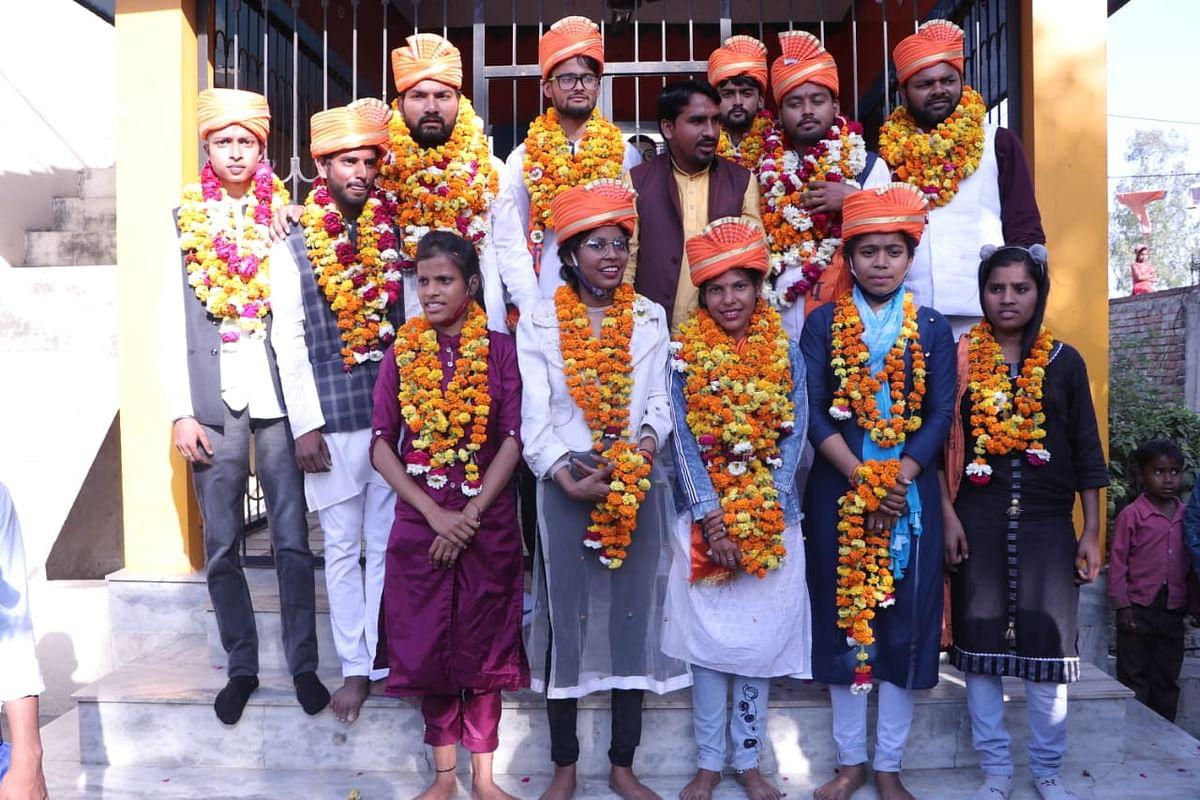 कन्नौज : अखिल भारतीय विद्यार्थी परिषद के नवनिर्वाचित पदाधिकारियों का जोरदार स्वागत
