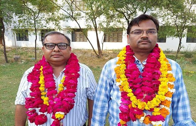 लखनऊ विवि : शिक्षक संघ के अध्यक्ष बने डा. विनीत कुमार वर्मा, महामंत्री डा. राजेन्द्र कुमार वर्मा