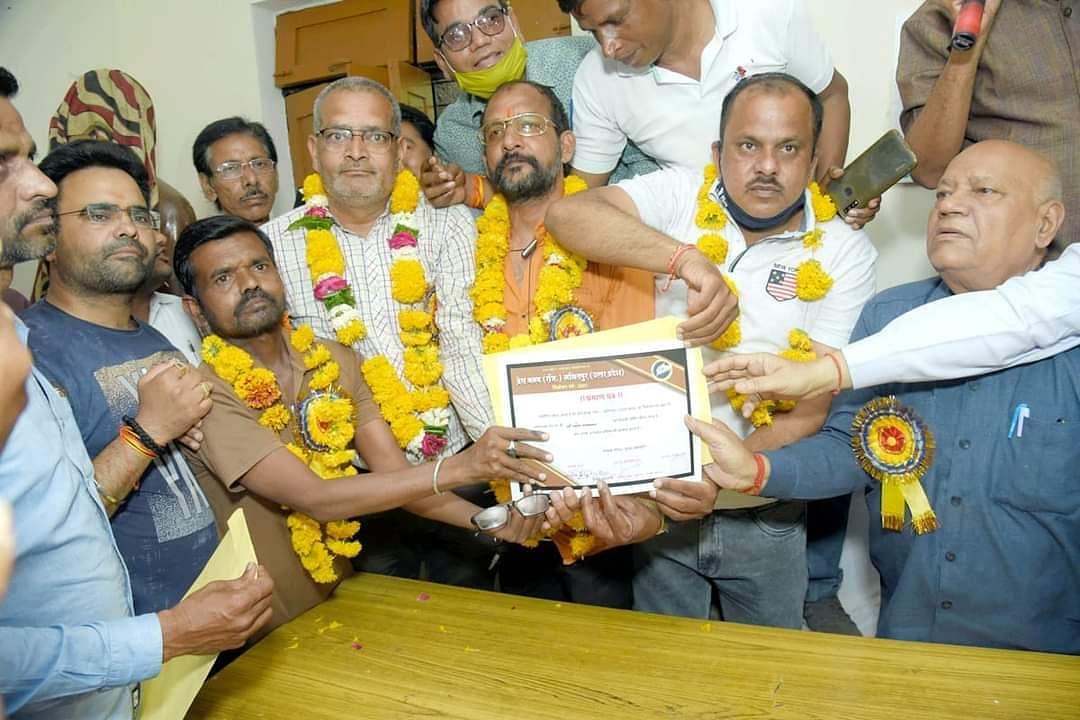 ललितपुर प्रेस क्लब रजि. के चुनाव सम्पन्न, राजीव बबेले अध्यक्ष व अंतिम जैन बने महामंत्री