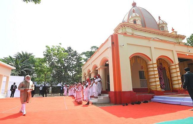 बांग्लादेश यात्रा: भारत ओराकांडी में बनाएगा प्राथमिक स्कूल: प्रधानमंत्री मोदी