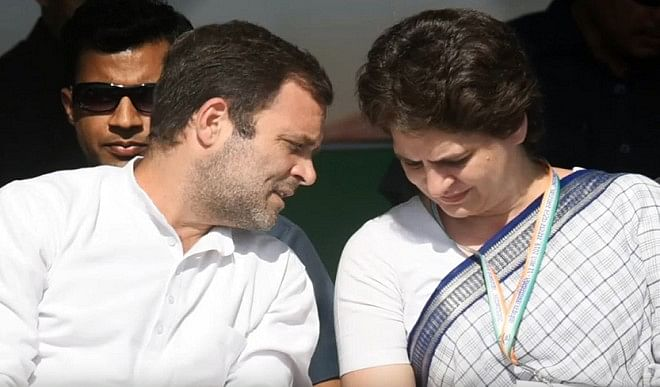 पश्चिम बंगाल में क्यों ध्यान नहीं दे रही कांग्रेस ? राहुल, प्रियंका असम में रैली करने में व्यस्त