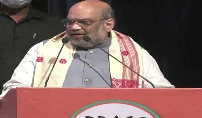 जन कल्याण की योजनाएं चाहते हैं तो भाजपा को वोट दें: अमित शाह