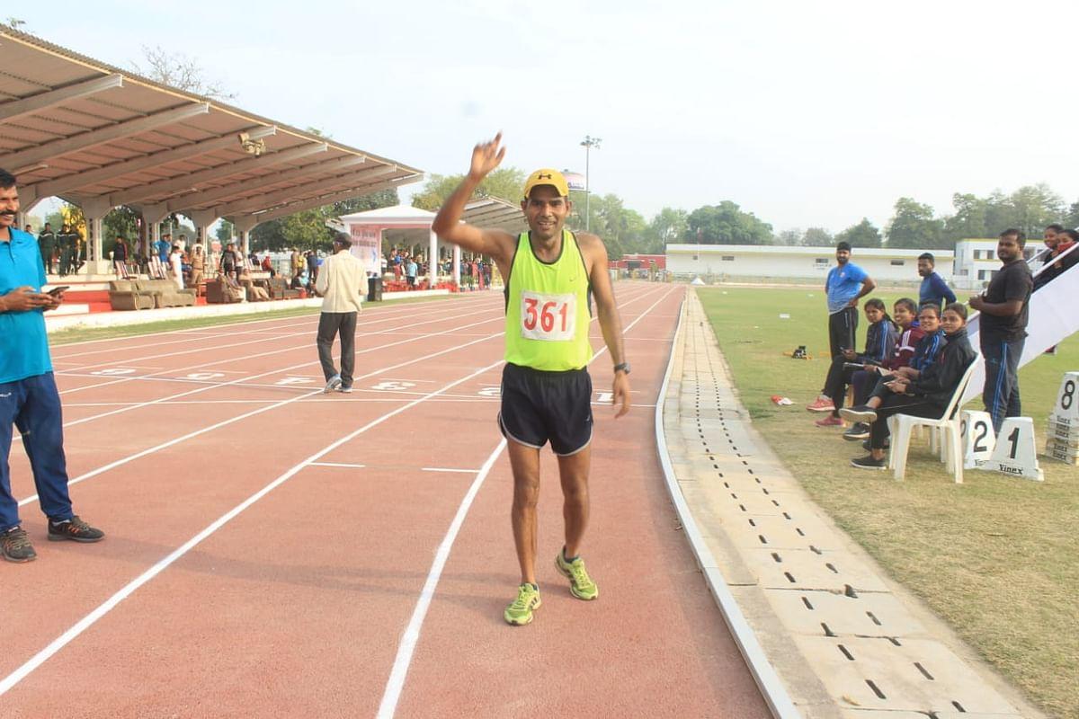 उप्र पुलिस एथलेटिक्स: मेरठ के मैराथन धावक सुशील ने जीता स्वर्ण