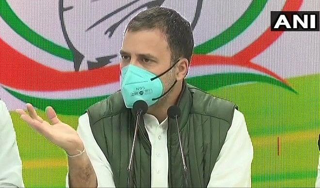 लोकतंत्र को मजबूत करने के लिए बांटने वाली ताकतों के खिलाफ वोट करें मतदाता: राहुल