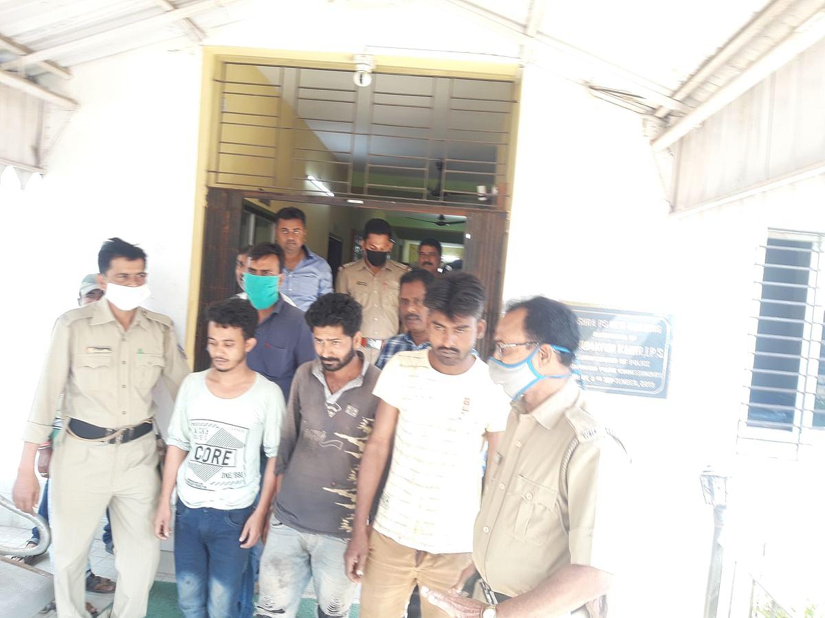 रिसड़ा दोहरा हत्या कांड : मुख्य आरोपित सहित तीन गिरफ्तार