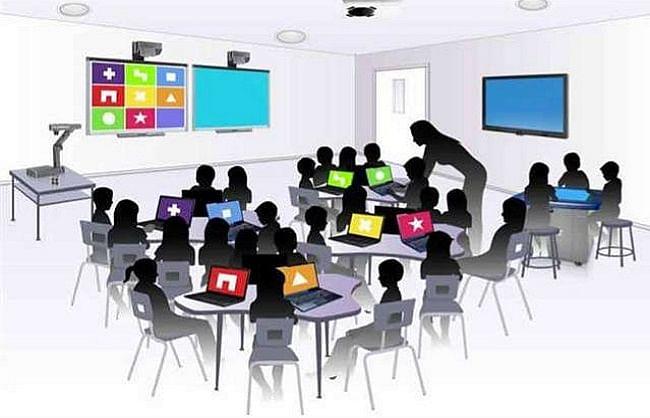 गोरखपुर : घर बैठे छात्रों को भी क्लास से जोड़े रखेगा 'कैवेन-एक्स'