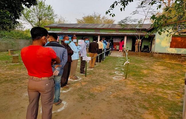 विधानसभा चुनाव: प.बंगाल में 79.79 तो असम में 72.14 प्रतिशत हुआ मतदान