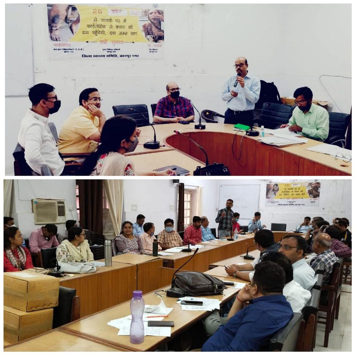 कानपुर में फाइलेरिया उन्मूलन अभियान 26 अप्रैल से होगा शुरू - डॉ. जीके मिश्रा