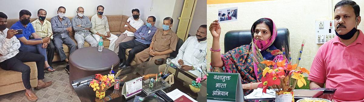 जबरन दोबारा समारोह आयोजित करवा कर लोकार्पण व भूमि पूजन करना समझ से परेः नम्रता राठौर